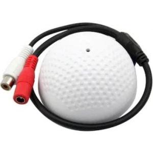 Dome Kutulu Güvenlik Kamerası Ses Kartı Mikrofon