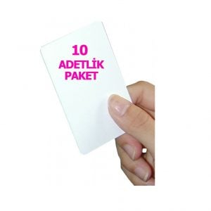 10 adet 1.Sınıf Proximity Kart (Seri numara baskılı )