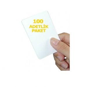 100 adet 1.Sınıf Proximity Kart (Seri numara baskılı )