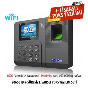Magic Pass 20656 ID Wifi Parmak izi cihazı