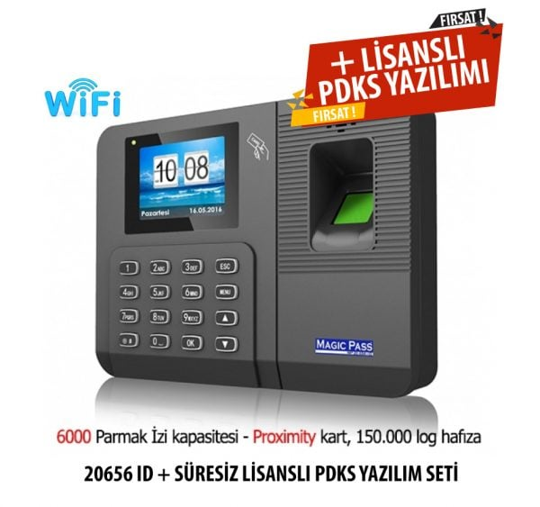 Magic Pass 20656 ID Wifi Parmak izi cihazı