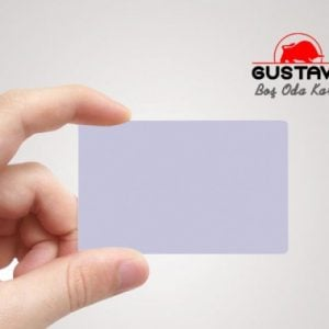 Gustavo Boş Otel Oda Kartı 50'li Paket