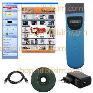 Perguard LCD Güvenlik Devriye Tur Kontrol Seti - Bekçi Tur Kontrol