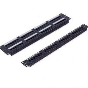 Ulusal 48 Port Cat6 Patch Panel