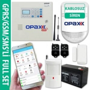 OPAX-2646 GPRS GSM Network Alarm Panel ve BGR-08