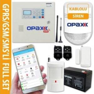 OPAX-2646 GPRS GSM Network Alarm Paneli ve BGR-10